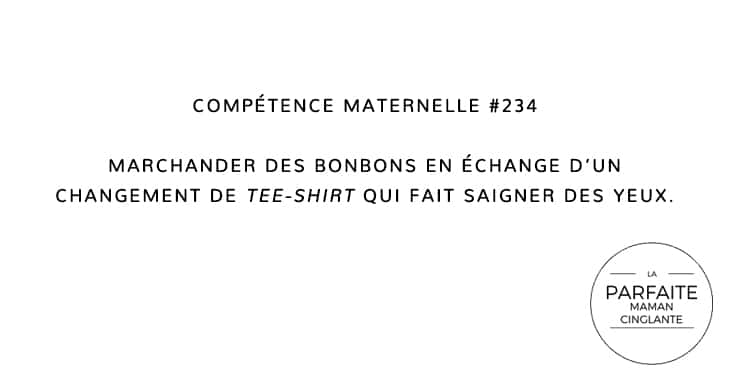 COMPTENCE MATERNELLE 234 TEE-SHIRT