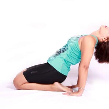 woman drained out exercice