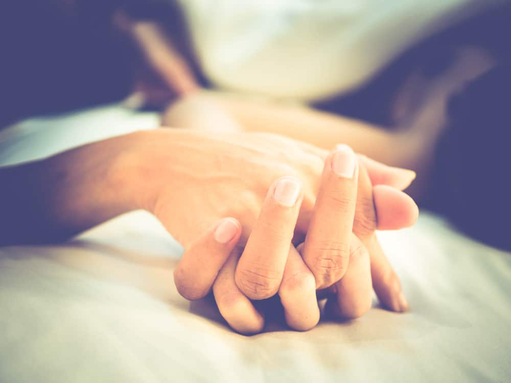 lovers hands