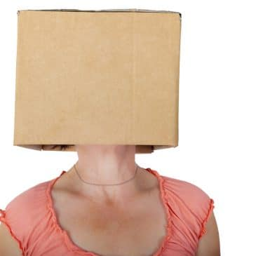 woman head box