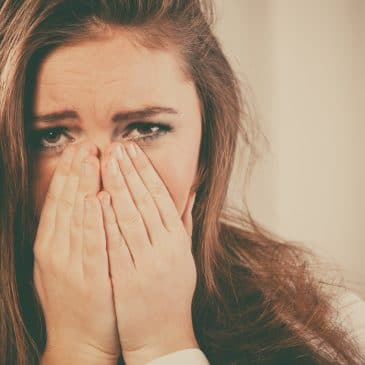 woman cry