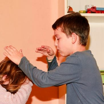 sibling fight