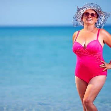 plage femme maillot