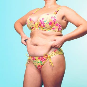 woman in swimsuit