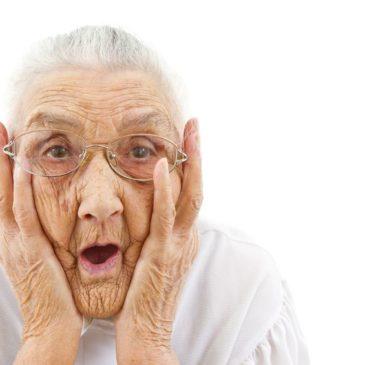 fée-amis visage grand-mère