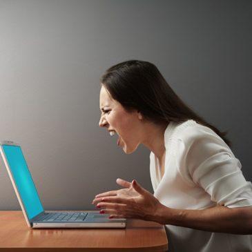 maman ordinateur internet colère