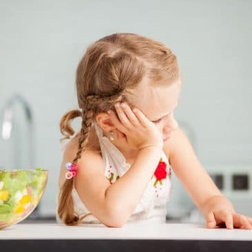 menu de semaine petite fille refuse de manger