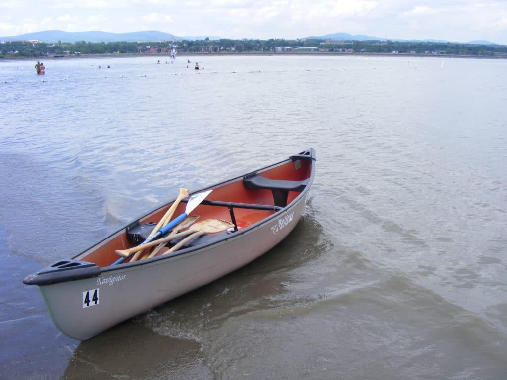canot baie de beauport