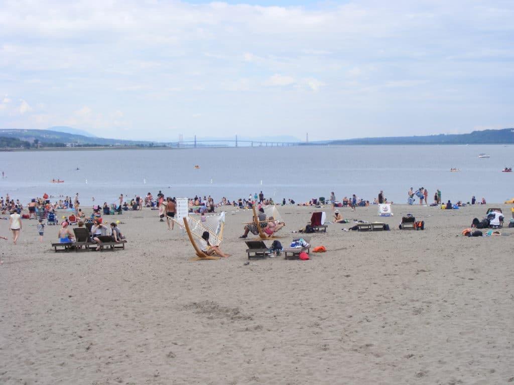 plage baie de beauport