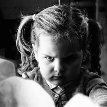 enfant crise colère