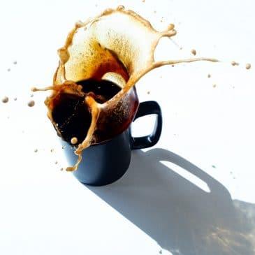 matin café famille enfant