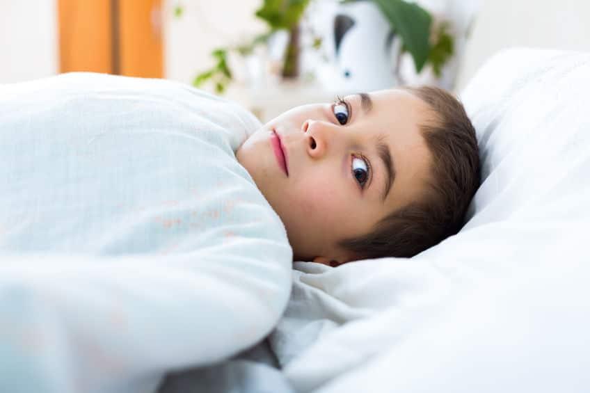 enfant ne dort pas
