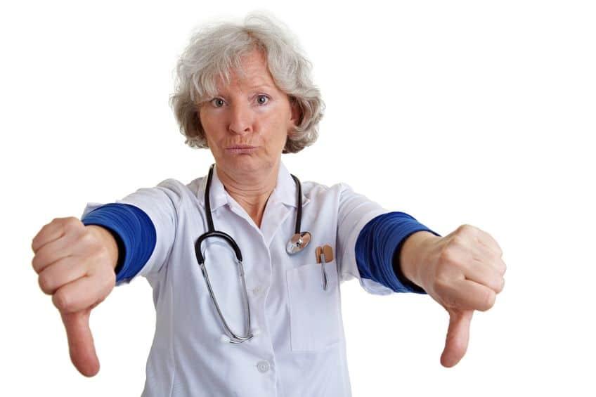 docteur fâché