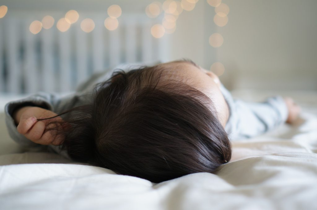 enfant sieste