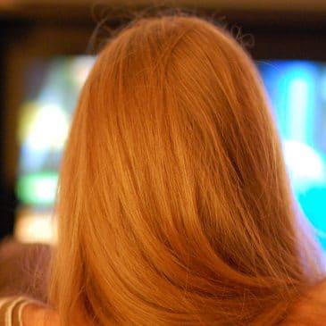 femme télévision
