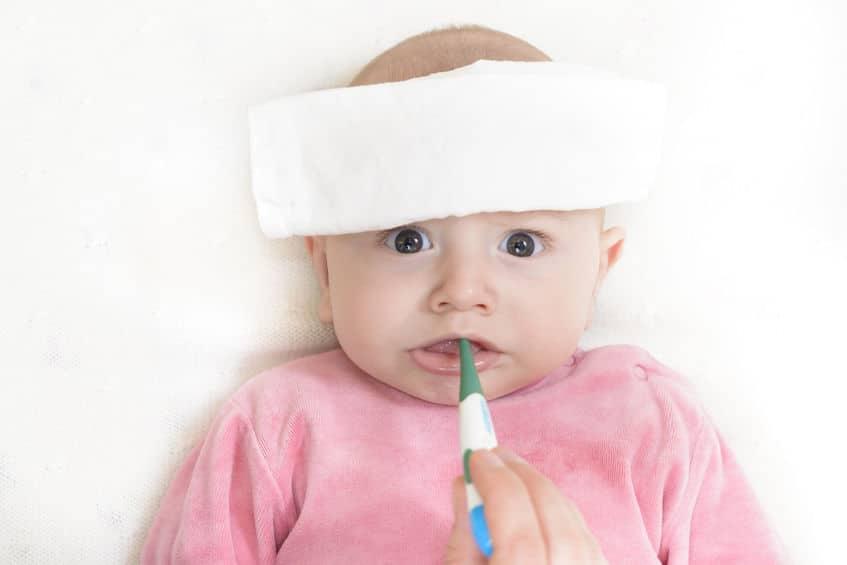 bébé fièvre