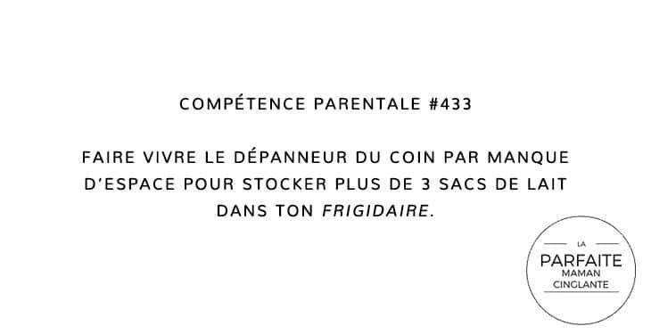 COMPTENCE 433 DÉPANNEUR
