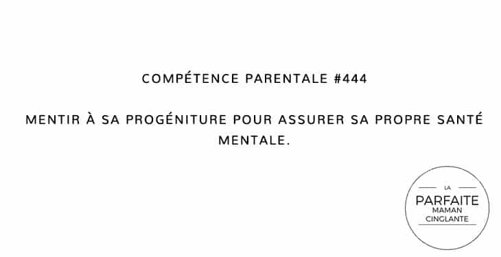 COMPTENCE 444 MENTIR