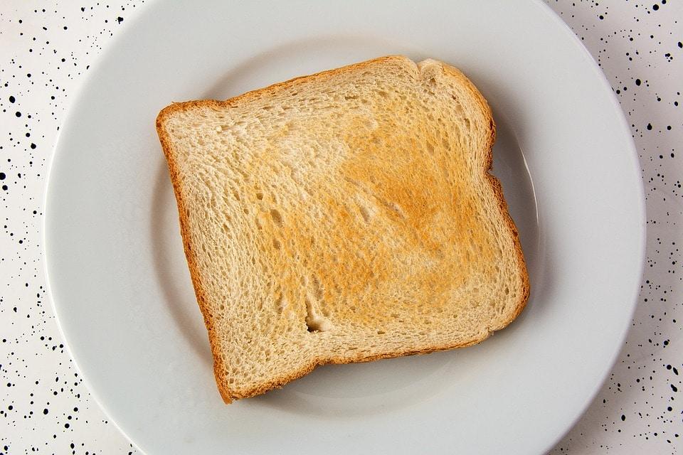toast matin pressé