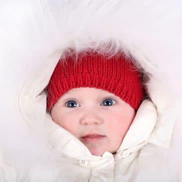 enfant habit de neige