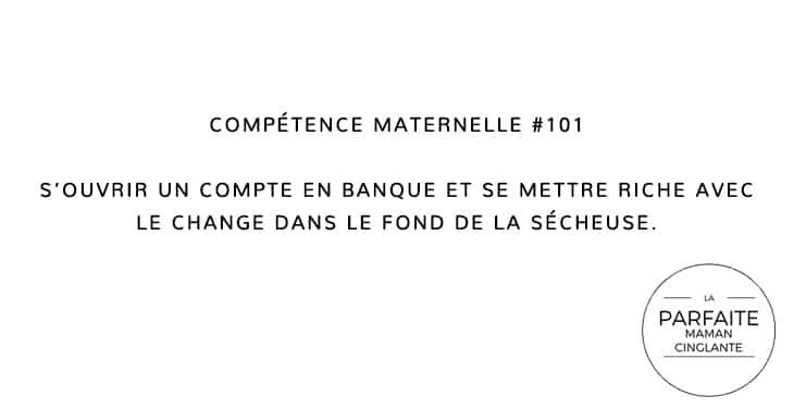 COMPETENCE MATERNELLE 101 SÉCHEUSE