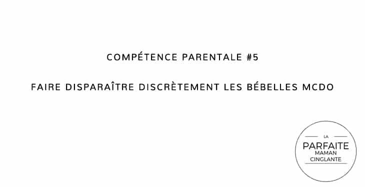 COMPETENCE PARENTALE 5 MCDO