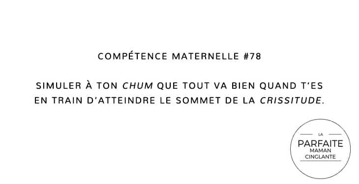COMPTENCE MATERNELLE 78 CRISSITUDE