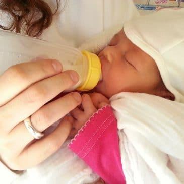 bébé biberon