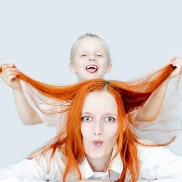 types de mamans cheveux