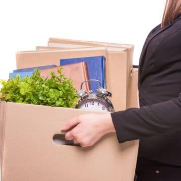 femme quitter emploi