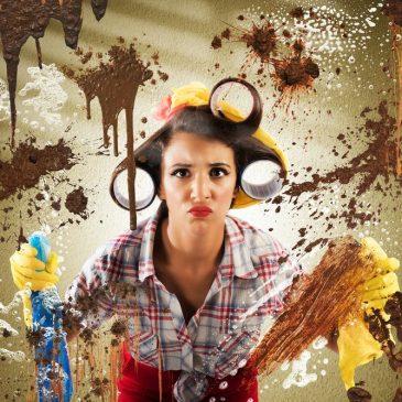femme ménage nettoyer