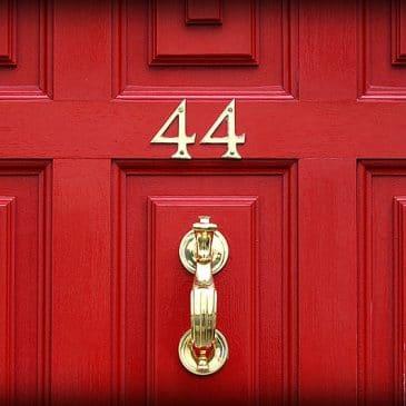porte rouge