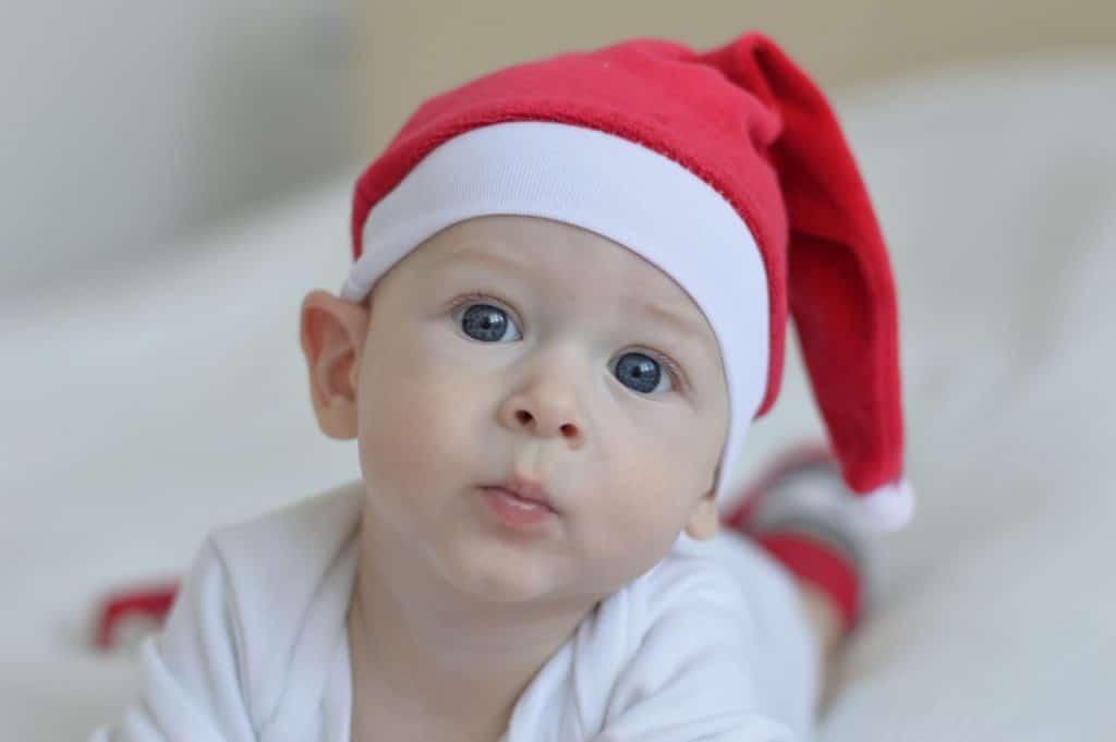 bébé tuque noel