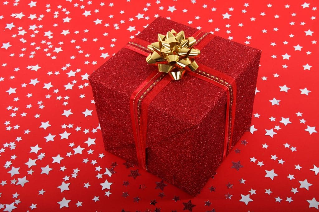 gift xmas red