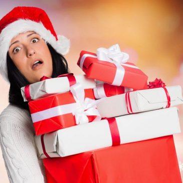 woman upset xmas gifts