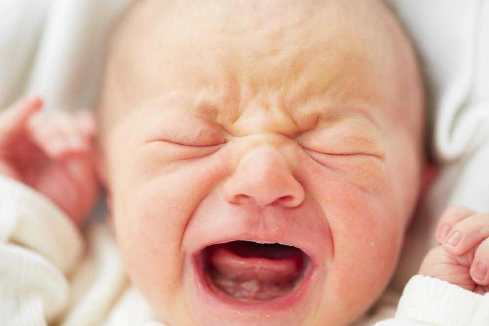 newborn crying loud