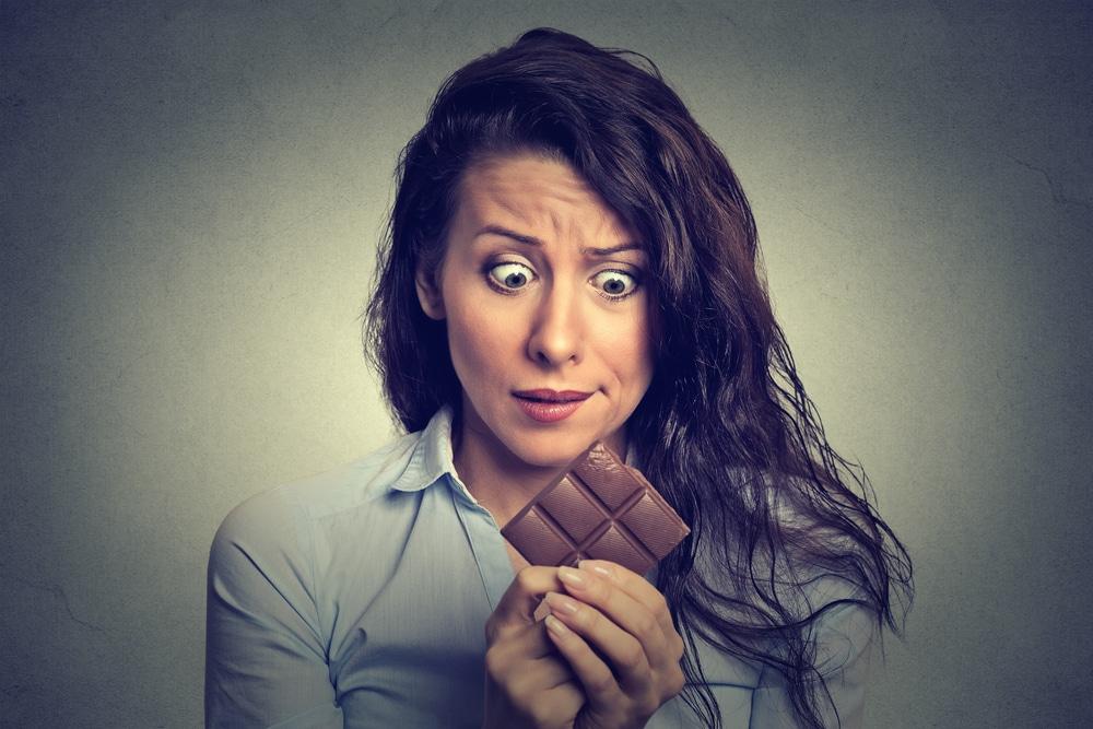 woman want chocolate