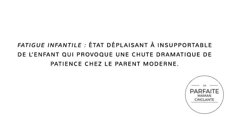 FFATIGUEINFANTILE