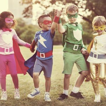friends superheroes