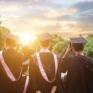 gang graduation sun