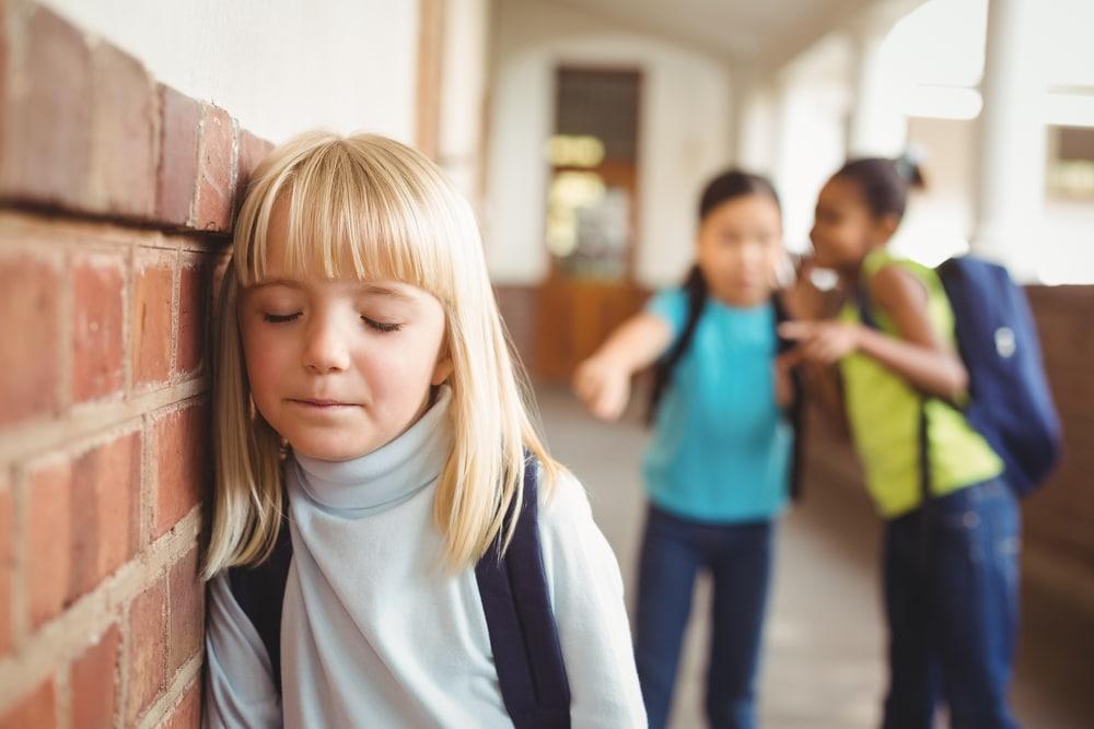 little girl bullying
