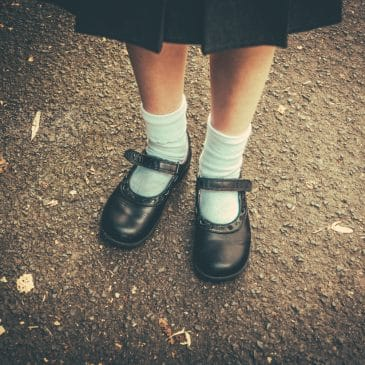 schoolgirl shoes
