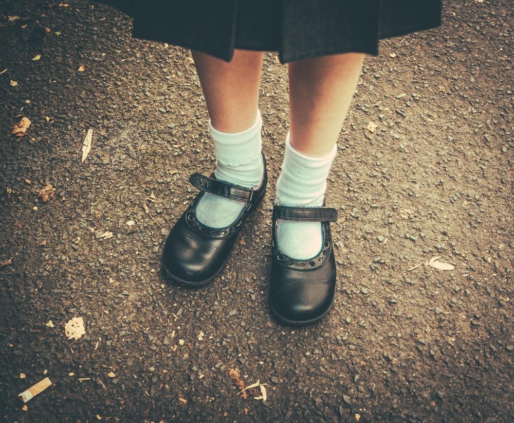 schoolgirl shoes