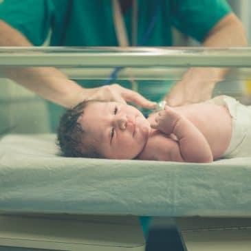 nurse with baby