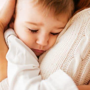 son hug mother