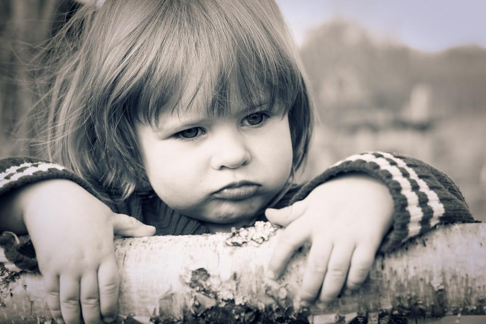 little girl vintage