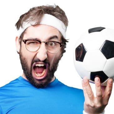 man sport soccer funny