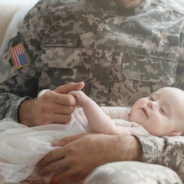 soldier father