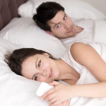 woman infidelity concept