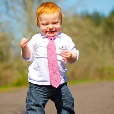 kid with red hair